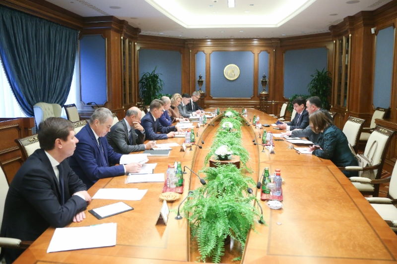 Working meeting between Alexey Miller and Aleksandar Antic, Minister ofMining and Energy ofthe Republic ofSerbia, took place inMoscow